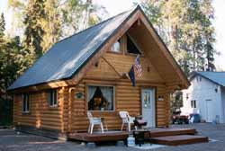 This modified 20' X 24' Orca cabin was owner built & made to their specs.