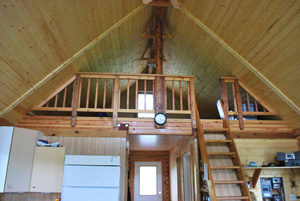 Alaska State Parks Frazer cabin on Kodiak Island
