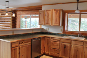 Nice kitchen to our customer's specs