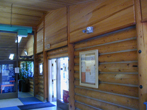 "The Talkeetna Post Office in our 10"" Superior Logs"
