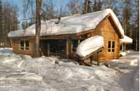 """The remote Lake Creek Lodge serves clients well. Our 8"""" Superior Logs keep them warm & dry while they enjoy our Alaskan sports activities. Our packages are """"Simple yet Superior""""!!"""