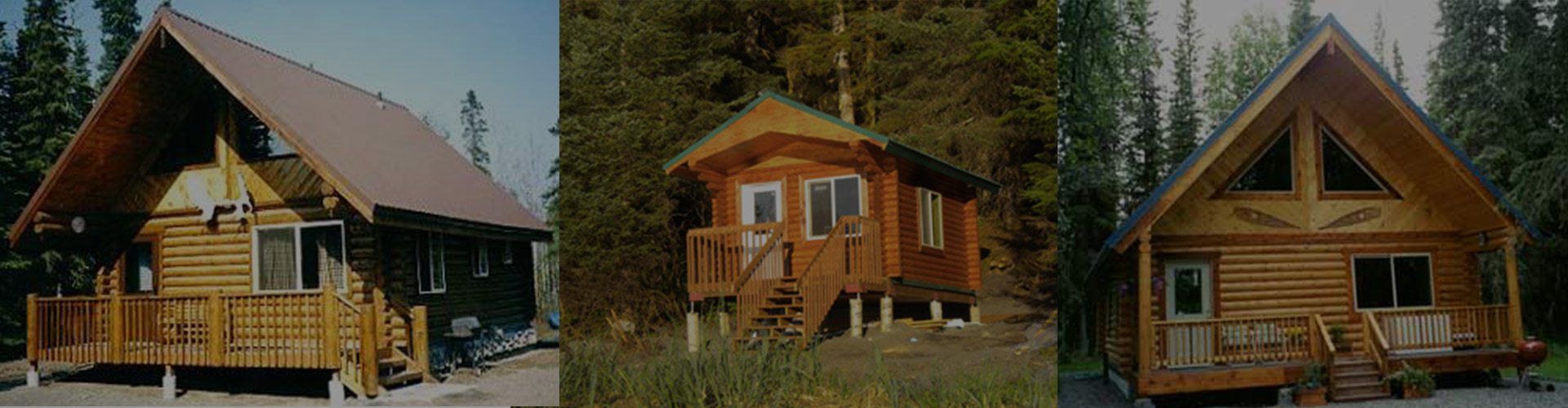 Alaskan made superior logs log homes log kits log for Alaska home builders