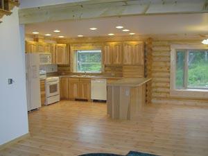 Very nice, bright kitchen