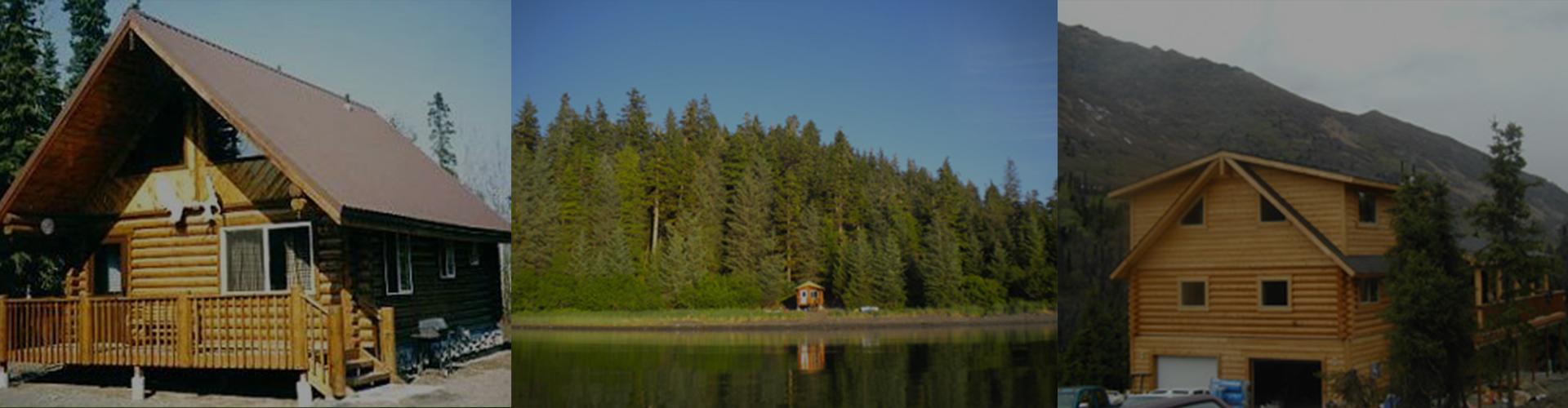 Alaskan Made Superior Logs - Log Homes, Log Kits, Log Cabins, Pre